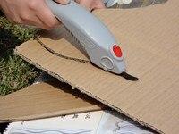 Eléctrica cortador de cartón corte de papel cortador eléctrico cuchillo