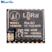 LoRa SX1278 433M 10KM Wireless Spread Spectrum Transmission Module Ra-02 SX1278 Socket DIY Kit for Smart Home Meter Reading(China)
