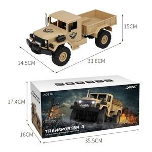 Image 5 - JJRC Q62 1:16 4wd rc voiture militaire carte escalade voiture tout terrain véhicule simulation modèle militaire escalade véhicule tout terrain