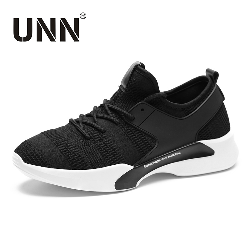 UNN Fashion Air Cushion Lace-up Shoes Shoes Men Breathable masculino adulto Mesh Casual Shoes Men lace up breathable mesh athletic shoes