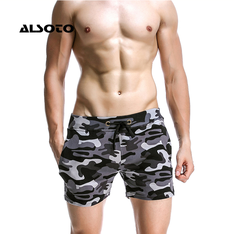 Mens Swimwear Sexy Men's Swimwear Swimsuits Maillot De Bain Basic Swimming Beach Long   Board     Shorts   Boxer Men   Short   Homme