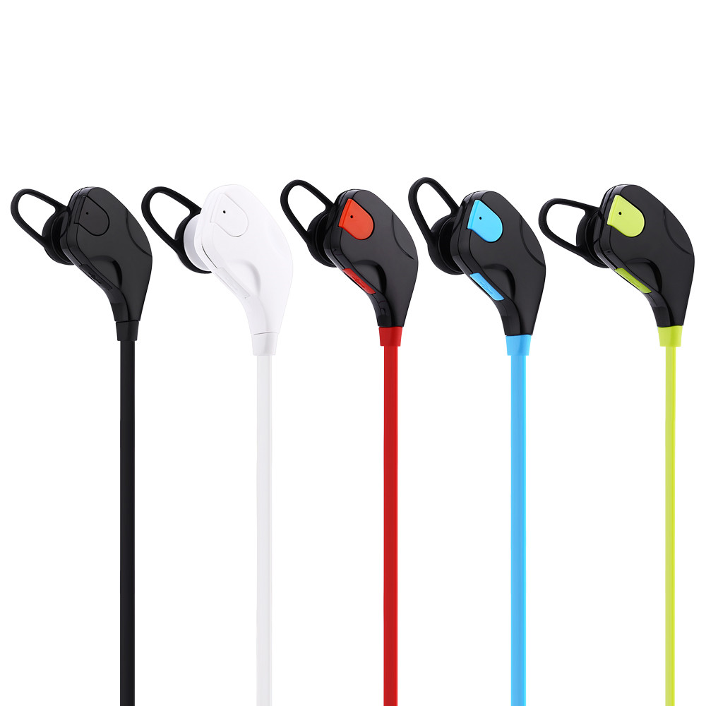 QY7S Sports Wireless Bluetooth 4.1 EDR Headphones Stereo Earphones Headset With MIC Call Earbuds For iPhone 7 Android Phone zonoki z b97 sports wireless bluetooth v2 1 edr stereo headphones grey black