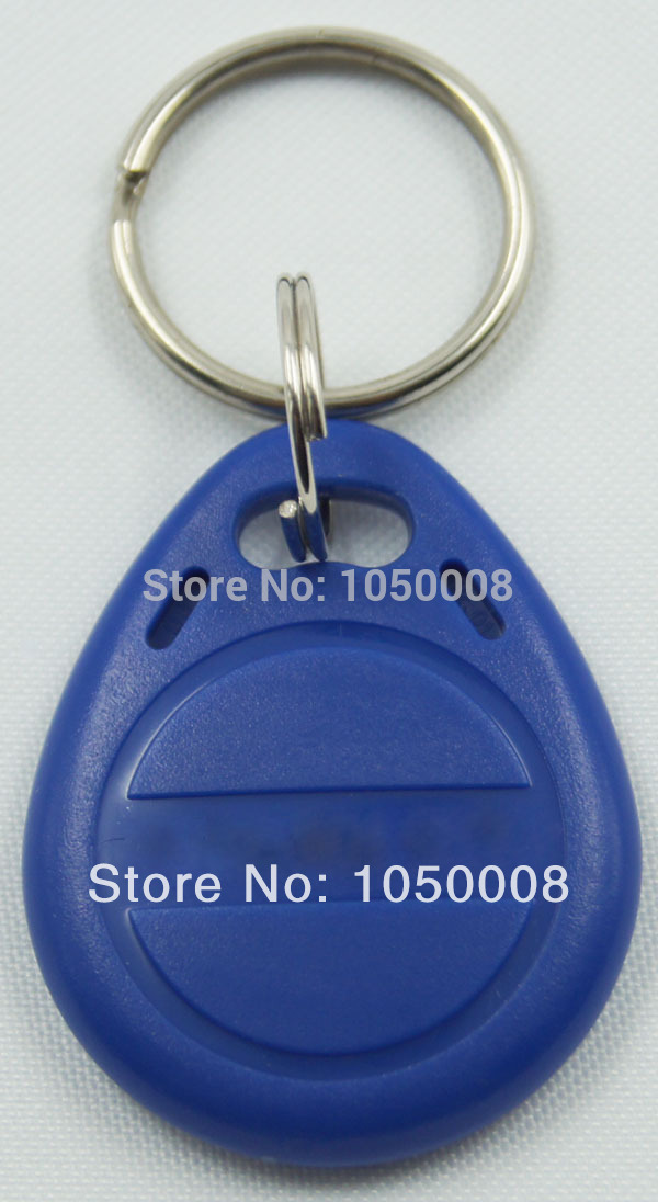 100pcs/bag RFID key fobs 125KHz proximity ABS key tags/for access control with TK4100/EM 4100 chip 100pcs bag tk4100 em id keyfob k001