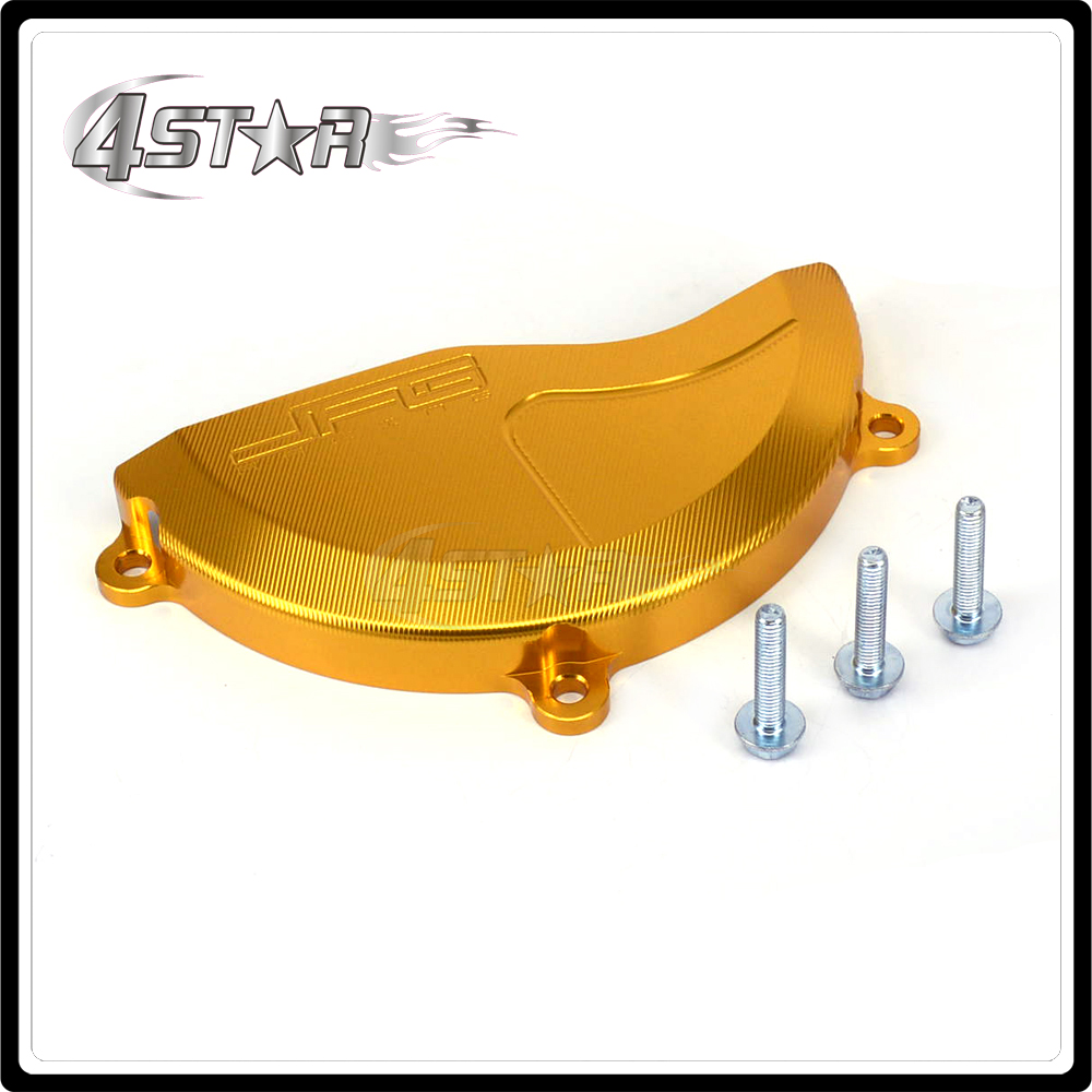 Motorcycle Right Engine Stator Cover Guard For SUZUKI RMZ250 RMZ 250 2010 2011 2012 2013 2014 2015 2016 Aluminum Gold bjmoto cnc aluminum motorbike accessaries motorcycle engine guard cover pad for kawasaki z1000 r 2010 2011 2012
