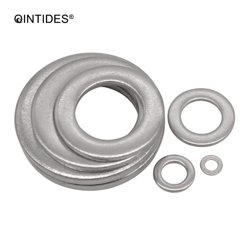 QINTIDES M1.6 - M18 Plain washers Small series Product grade A Narrow flat gasket 304 stainless steel small washer M2 M6 M8 M12QINTIDES M1.6 - M18 Plain washers Small series Product grade A Narrow flat gasket 304 stainless steel small washer M2 M6 M8 M12