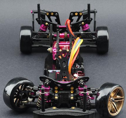 110 alloy sakura d4 awd ep carbon drift racing car frame body kit kit d4awd