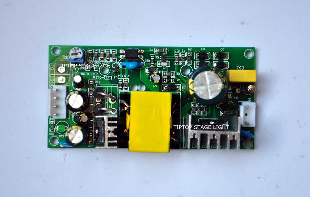 מצוין LED-30W 12 V/32 V 80 W אספקת חשמל 10 W Led הזזת ראש אור/30 W ספוט Led הזזת ראש אור 110 V-220 V שקע סיכה