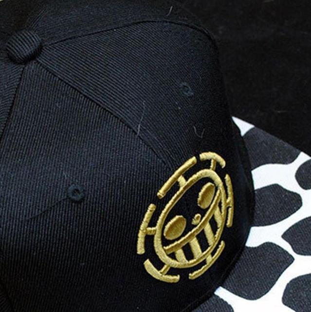 One Piece Trafalgar Law Sign Skull Head Baseball Caps