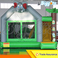 Free Shipping By Sea Cheap Commercial Inflatable Activity Jumping Bouncy House With Slide