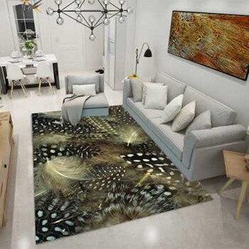 Геометрический прямоугольный ковер скандинавском стиле Спальня ковры для гостиной Декор коврик для детей/детские игры на свежем воздухе п...