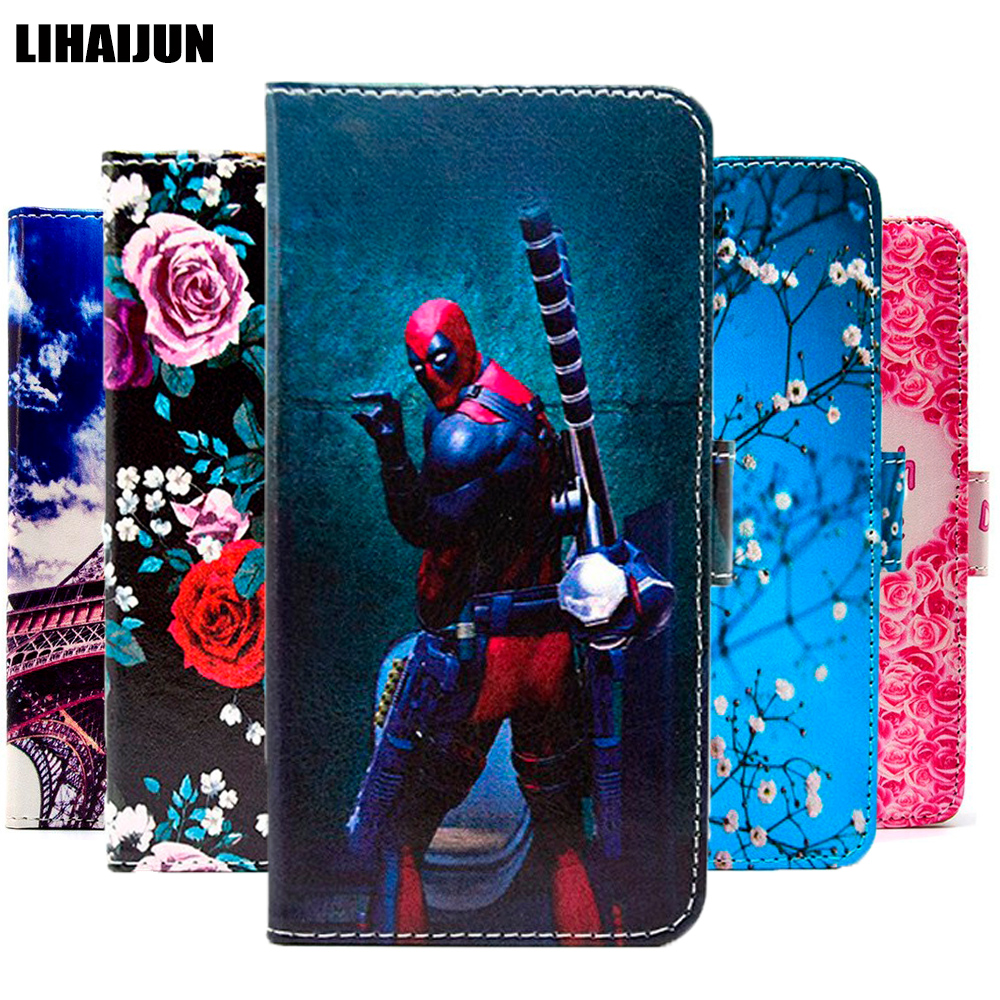 "Leather Case For Gome C7 C71 Fenmmy Note S7 U7 mini U9 C51 K1 flip back Cover For Gome U7 protective capas coque 5.99"" fundas"