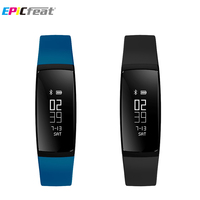 EPiCfeat Blood Pressure Heart Rate Monitor Sport Swim Smart Wristbands For Android IOS Phone GPS Mileage