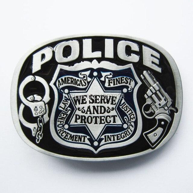 New Vintage Enamel Hero Sheriff Law and Order Belt Buckle Gurtelschnalle Boucle  de ceinture fa48f7a5975