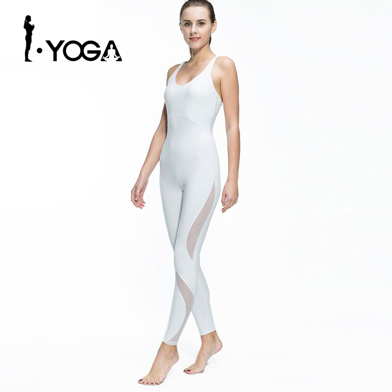 Women Fitness Yoga Set Gym Sports Running Jumpsuits Jogging Dance Tracksuit Breathable Quick Dry Spandex Sportswear Clothes Suit ayopanda 2017 new yoga pants women leopard printed fitness gym sports legging quick dry workout trousers hot sale running tights
