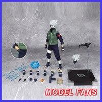 Модель вентиляторы надувные игрушечные лошадки Наруто 30 см Высота 1/6 Хатаке Какаши содержат две головы фигурку игрушки для коллекци