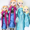"""Новый Подлинная Эльза Анна Плюшевые Куклы 50 см 19.7 """"Принцесса Кукла Плюшевые Olaf Игрушки Brinquedos Дети Куклы для Девочек"""