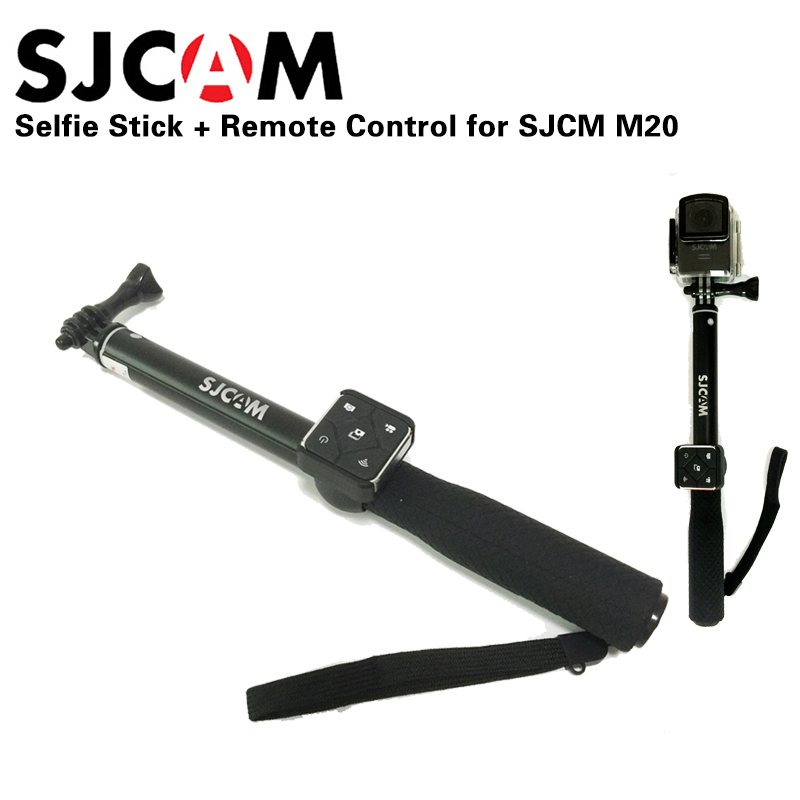 buy newest original sjcam aluminum monopod selfie stick re. Black Bedroom Furniture Sets. Home Design Ideas
