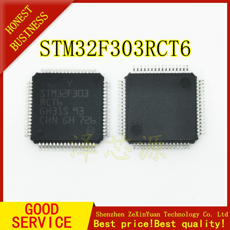 STM32F303RCT6 QFP STM32F303 LQFP-64  NEW
