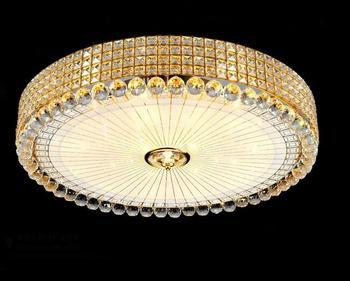 بسيطة جولة شخصية رومانسية ذهبية أدت السقف مصباح السقف مصباح غرفة نوم فندق ممر إضاءة المنزل hm