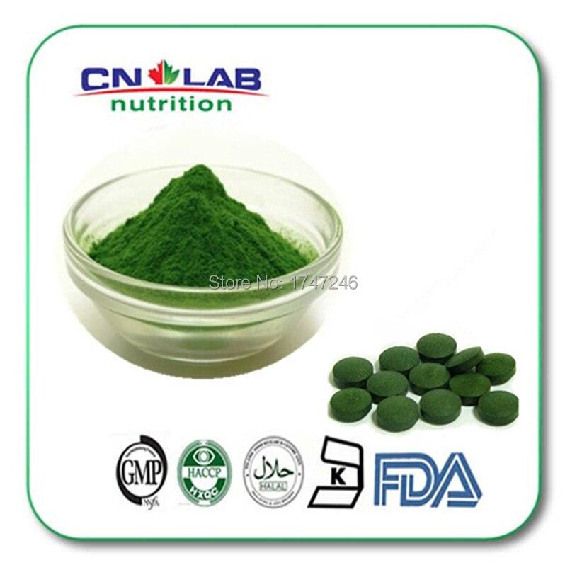 Free shipping high quality organic Spirulina Powder supply by GMP Factory