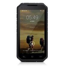 Original LR S6 Rugged Phone Android 4.4.2 3G Smartphone MTK6582 Quad Core 1GB RAM 8GB ROM PTT IP68 Waterproof