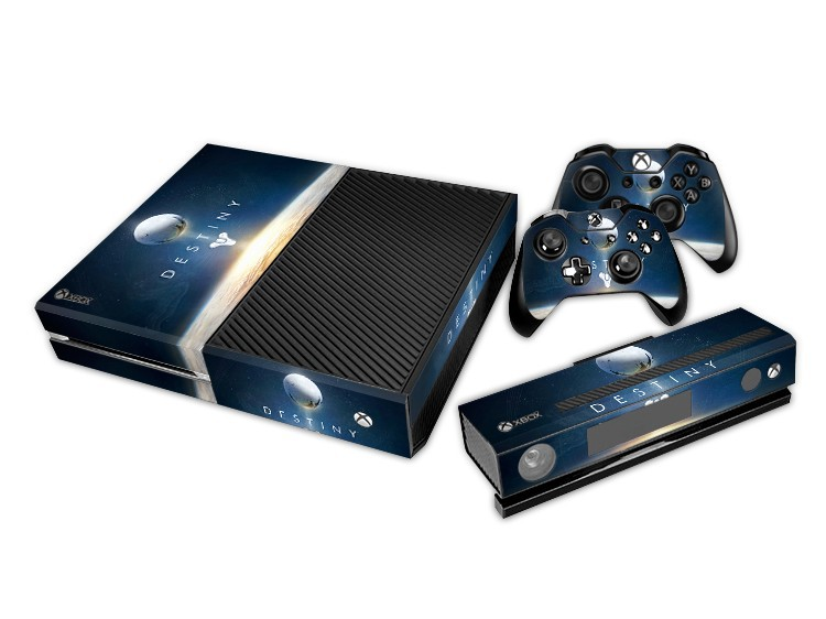 Destiny for Microsoft XBOX ONE Skin Stickers + 2Pcs Controller Skin Console Stickers Protective Skin for XBOXONE Stickers