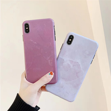 Pink vintage marble case for iphone xsmax x xr xs Granite painted glossy soft cover 6 6s 7 8 plus sequins shield capa