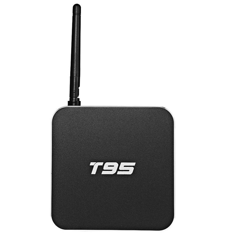 ANEWKODI T95 Android 5.1 TV Box Amlogic S905 Quad Core 2G 8G Kodi16.0 Bluetooth Dual WIFI 2.4GHz/5.0GHz Metal Case LED Display m8 fully loaded xbmc amlogic s802 android tv box quad core 2g 8g mali450 4k 2 4g 5g dual wifi pre installed apk add ons