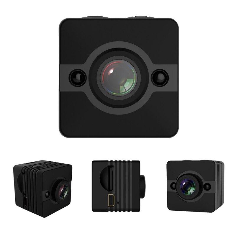 SQ12 HD 1080 P Mini Caméra Night Vision Grand Angle Étanche Mini Caméscope DV Voix Vidéo Enregistreur D'action Caméra