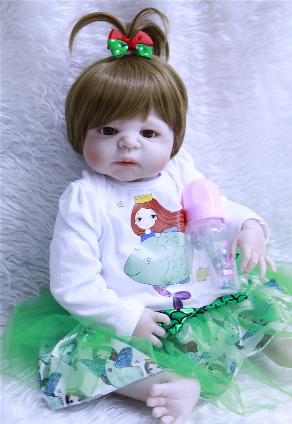 DollMai fake baby doll silicone 2357cm girl body princess reborn babies dolls for children gift bebes reborn menina bonecasDollMai fake baby doll silicone 2357cm girl body princess reborn babies dolls for children gift bebes reborn menina bonecas