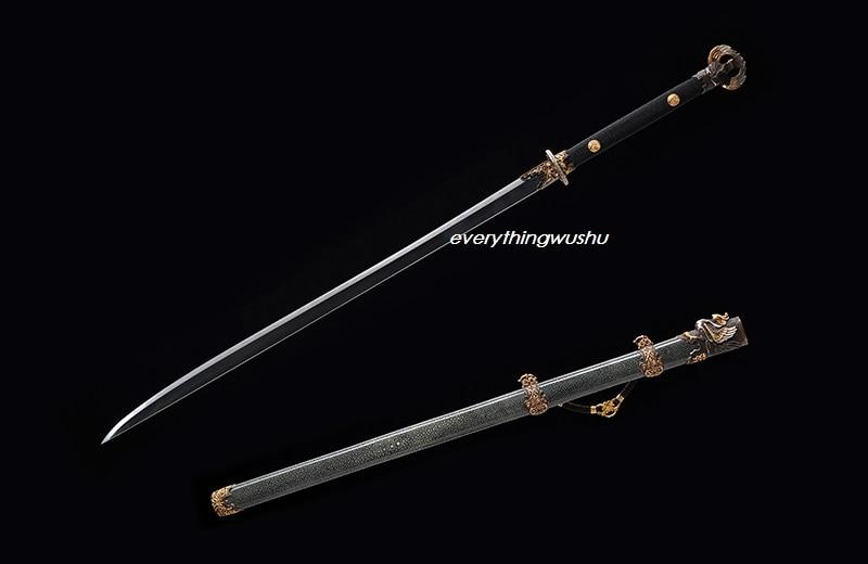Gewetensvol Premium Traditionele Chinese Sabre Rosefinch Zwaarden Wushu Qing Dao Wushu Zwaarden