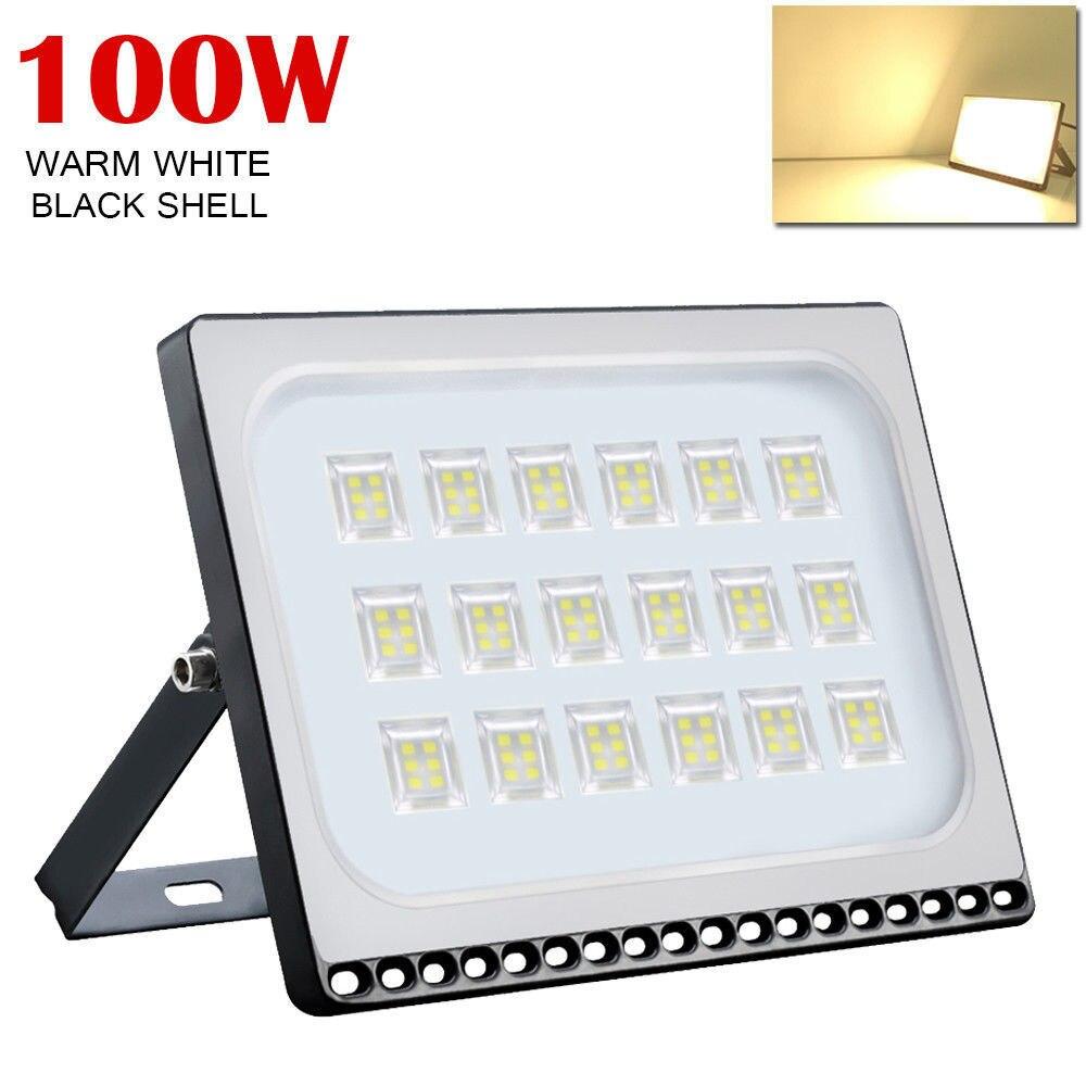 Kaigelin 100W Ultra Thin LED Flood Light 220V IP65 LED Spotlight Floodlight LED Outdoor Street Wall Garden Illumination Lamp