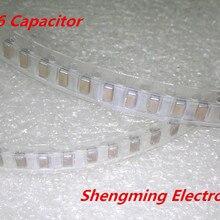 2000 шт. 1206 107 м 100 мкФ 16 V чип СМД керамический конденсатор с алюминиевой крышкой