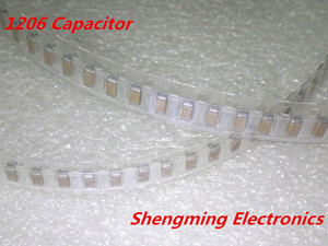 Image 1 - 2000pcs 1206 107M 100uF 16V chip SMD Ceramic capacitor