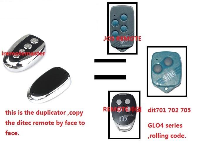 After market ditec remote ditec garage door remote ditec rolling code remote model dit701 - Rolling code garage door remote ...