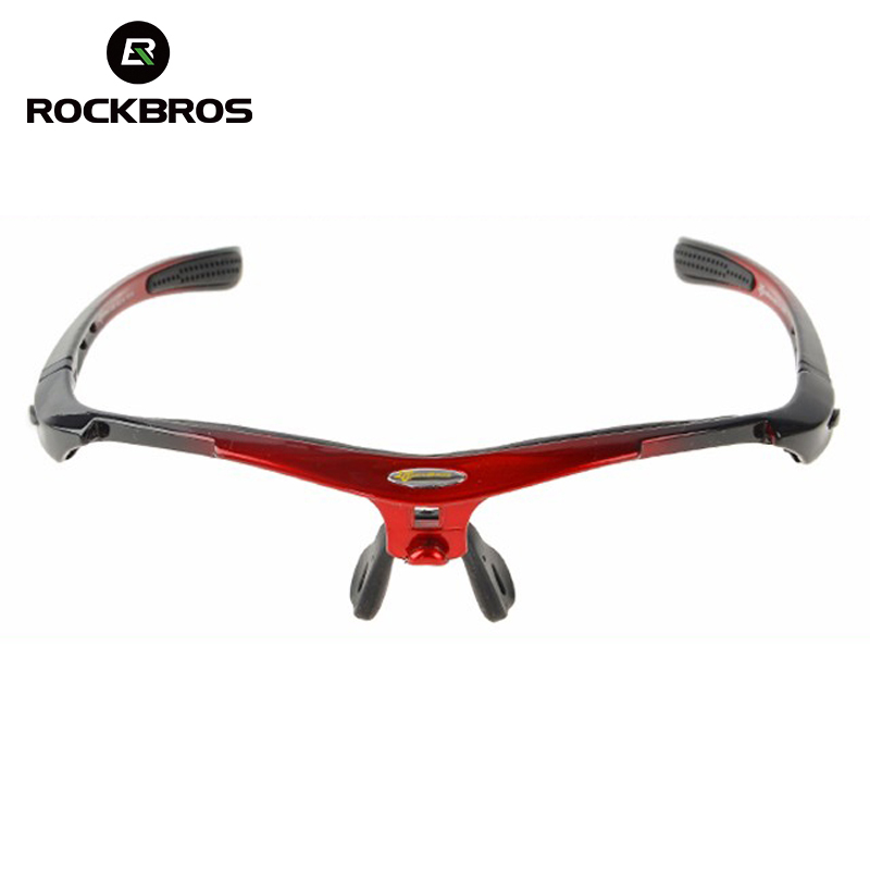 ROCKBROS bicicleta gafas de sol de gafas de marco de bicicleta de la bici de equipo incluir sólo las gafas de sol de Marco