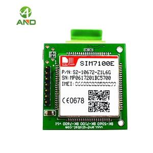 Image 3 - 4g SIM7100E لوحة القطع ، LTE شبكات اختبار المجلس في أوروبا الغربية مع وحدة SIM7100E ، B1 B3 B7 B8 B20