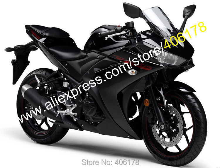 Hot Sales,Sportbike Body Kit For Yamaha R25 R 25 15 16 R3 R 3 2015 2016 Black Bodyworks Motorcycle Fairing (Injection molding) hot sales best price for yamaha tmax 530 2013 2014 t max 530 13 14 tmax530 movistar abs motorcycle fairing injection molding