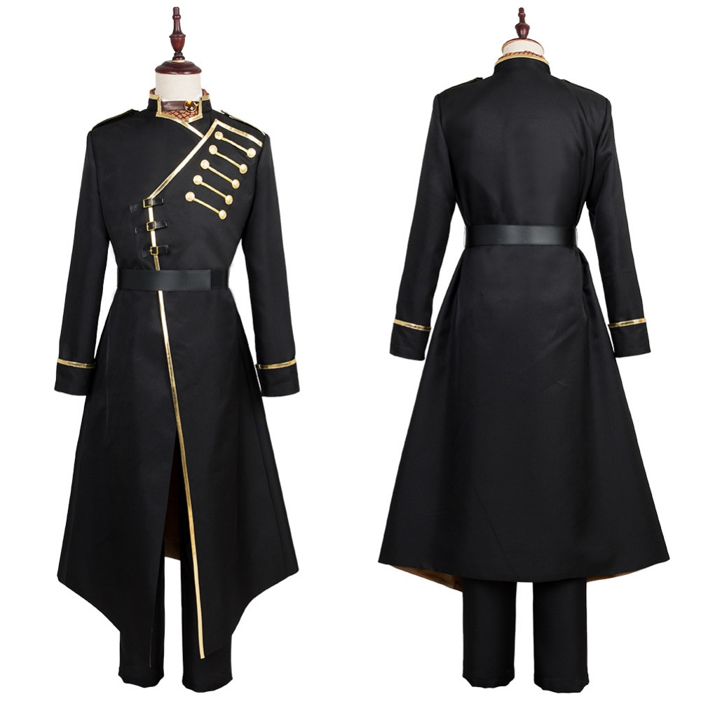Anime K Seven Stories Isana Yashiro Cosplay Costume Custom Made Uniform Outfit