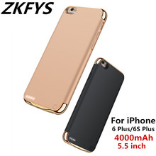 4000mAh Portable High Quality Power Bank Battery Cover For iPhone 6 Plus Case 6S Charging