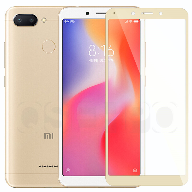 Image 3 - 3D Full cover Tempered Glass For Xiaomi Redmi 6A redmi 7A Screen Protector On the For Redmi 6 Redmi 5A 4X Protective Glass Film-in Phone Screen Protectors from Cellphones & Telecommunications