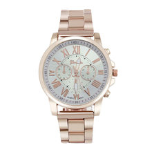 2019 Women Watches Top Brand Luxury Colorful casual Stainless Steel Round Gold Quartz charm Zegarek Damski Reloj Mujer 6 Color(China)