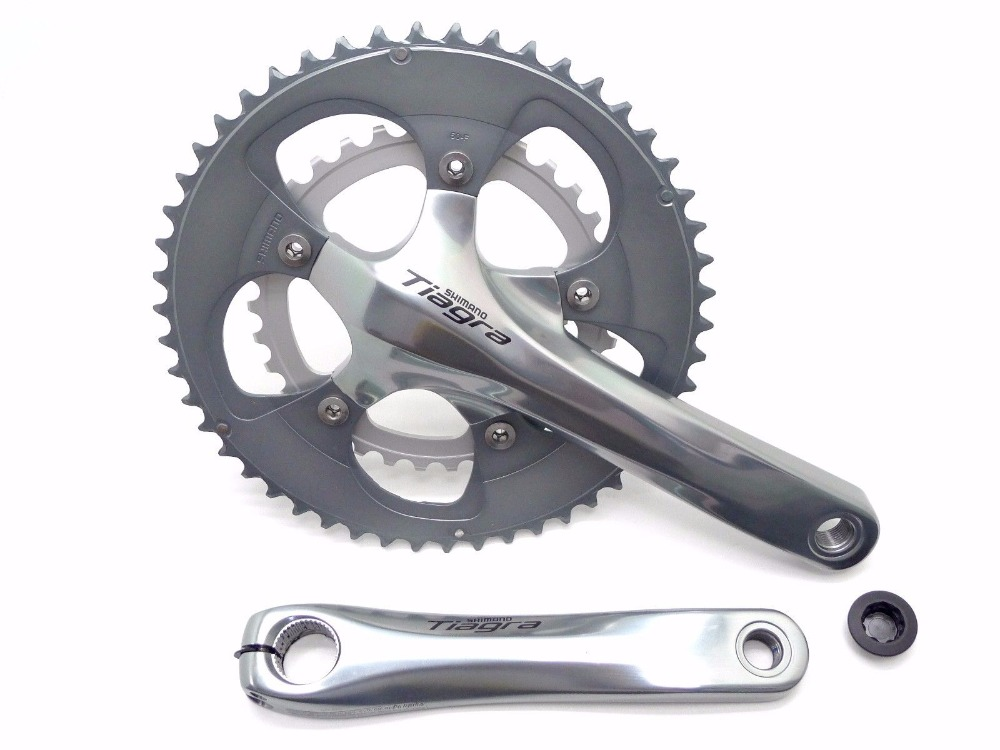 Shimano Tiagra 4650 10 vitesses vélo de route vélo bmx pédalier 50/34 T 165 170 172.5 175mm avec bb4600 - 5