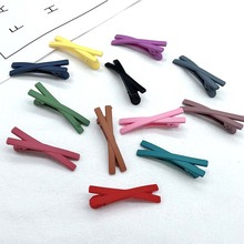 Addy store hairpins Candy color 11 pieces a lot Cross Sweet Hair Clip with BB hair accessories for women