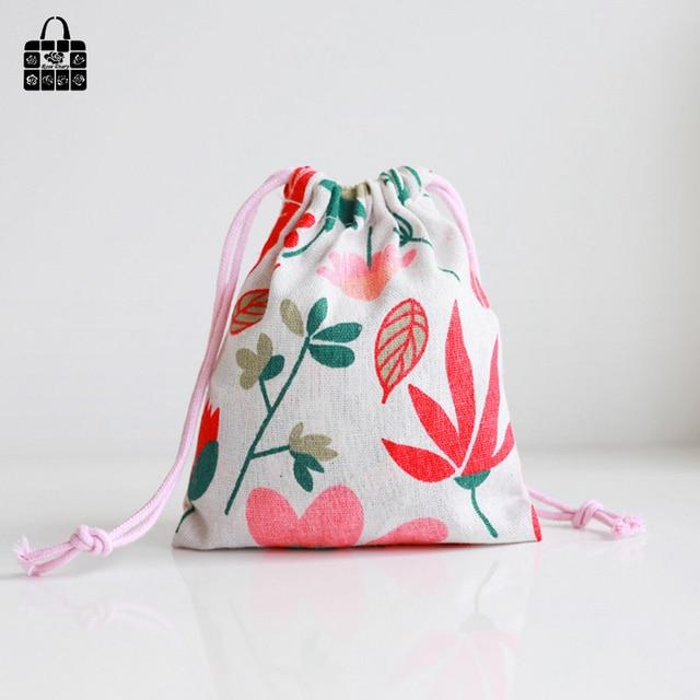 Multicolor Linen Bag