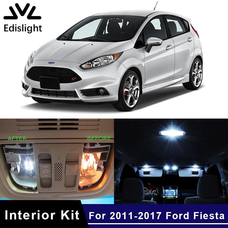 Interior Car LED Lights KIT Package Xenon White 6K For Ford Transit Custom *P