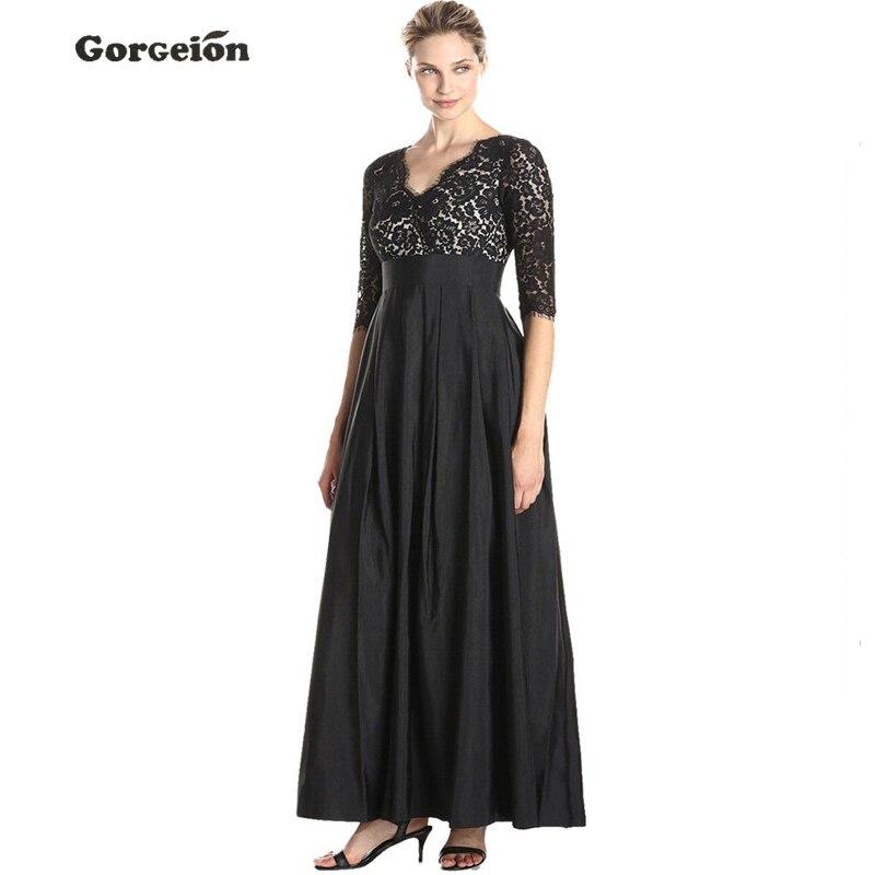 Online Get Cheap Floor Length Black Dress -Aliexpress.com ...