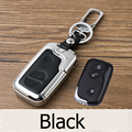 Genuine Leather Car Key Case For Lexus CT200h ES 300h IS250 GX400 RX270 RX450h RX350 LX570 Interiors Accessories Key Ring Holder