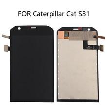 لشركة كاتربيلر القط S31 LCD تعمل باللمس عرض استبدال ل القط S31 S 31 المحمول عرض استبدال عرض مكون + أدوات
