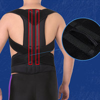 Backpacking Breathable Bandage Belt Back Support Professional Black Climbing Guard Brace Wraps Adjustable Sportswear